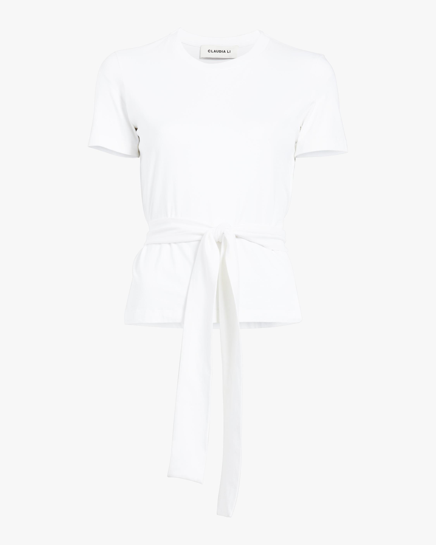 Boxy T-Shirt With Belt