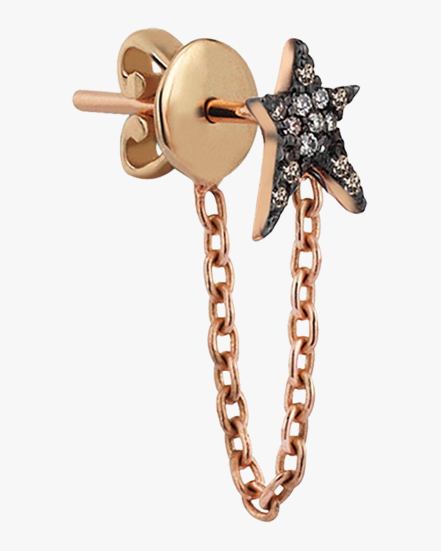Struck Chainy Single Earring
