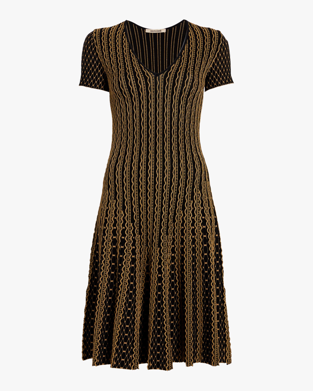 Textured Python Kinit Dress