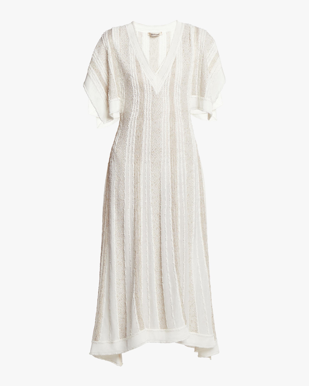 Striped Bouclè Dress