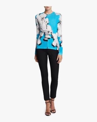 Cashmere Printed Blouse