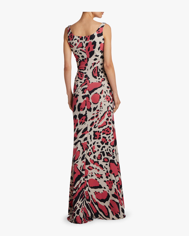 Mookaite Jersey Dress Roberto Cavalli