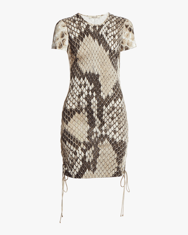 Macro Python Shift Dress
