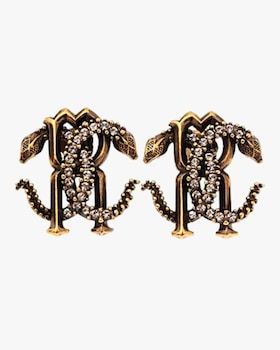 Serpent Logo Earrings