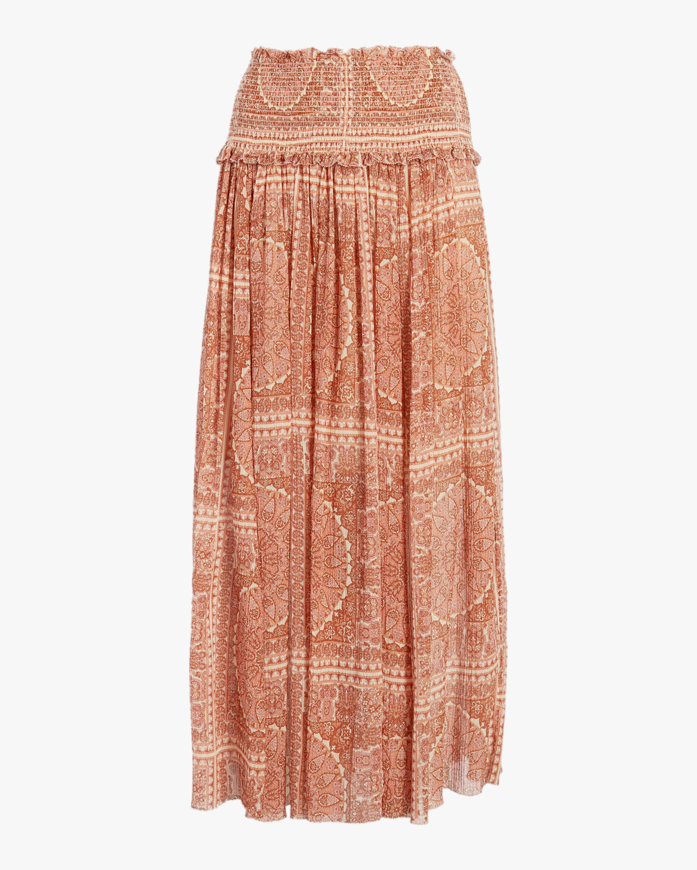 Primrose Paisley Crinkle Skirt