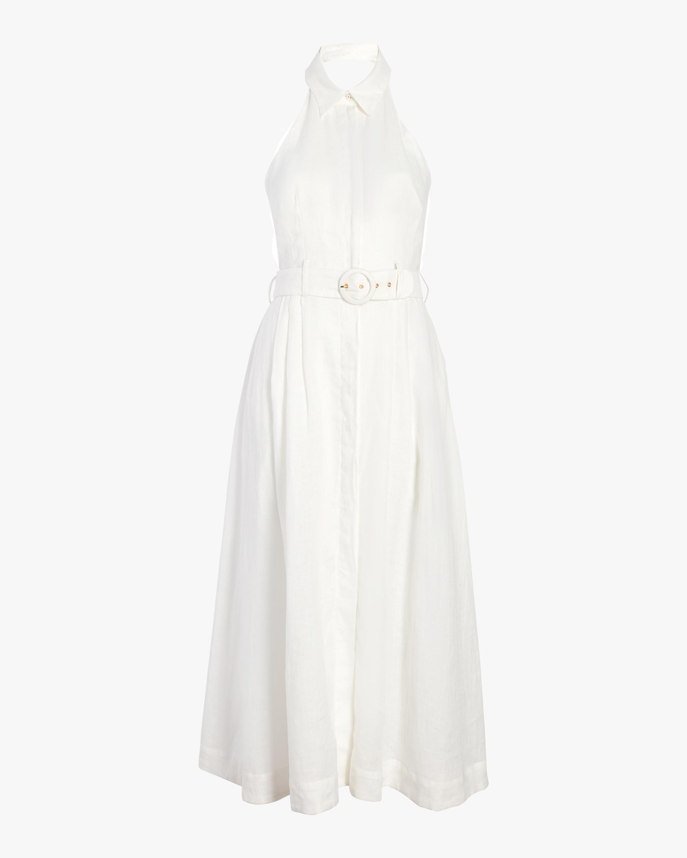 Primrose Halter Collared Dress