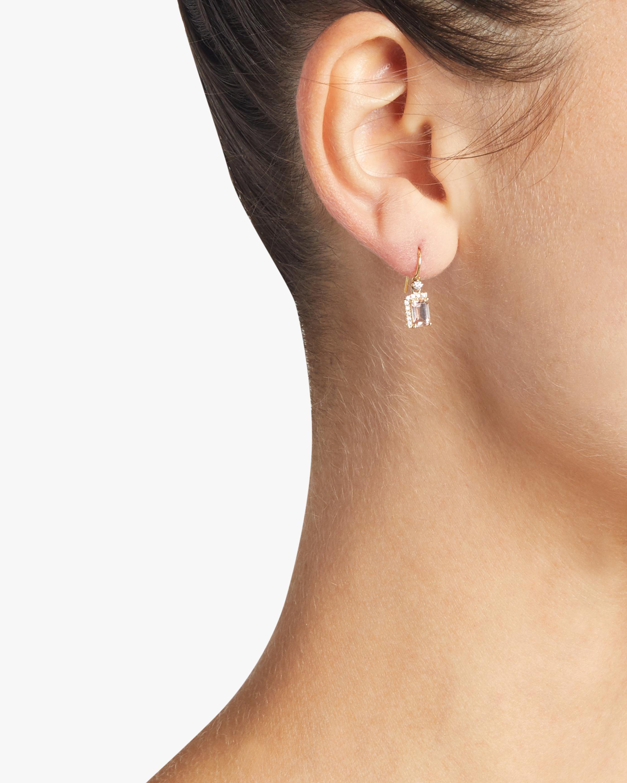 Morganite Topaz Earrings