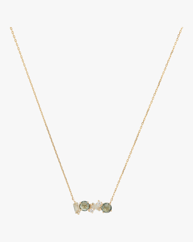 Bloom Green Amethyst Necklace