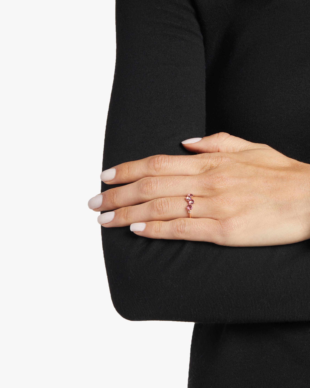 Soleil Pink Topaz Ring