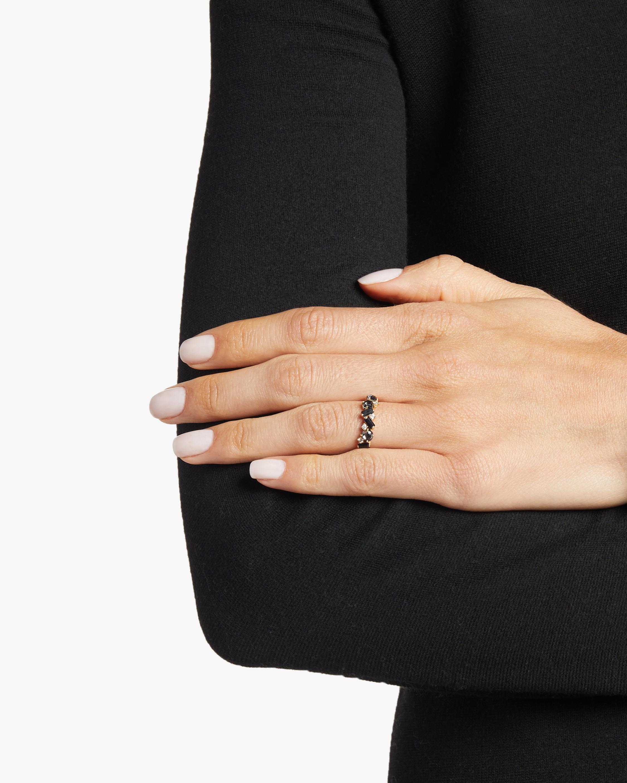 Amalfi Black Night Quartz Ring