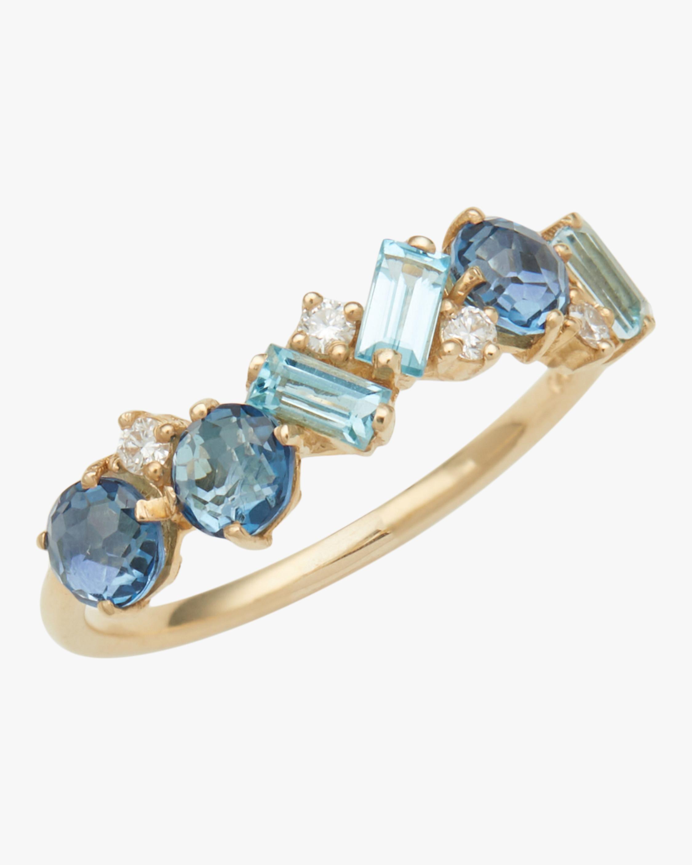Amalfi English Blue Topaz Ring