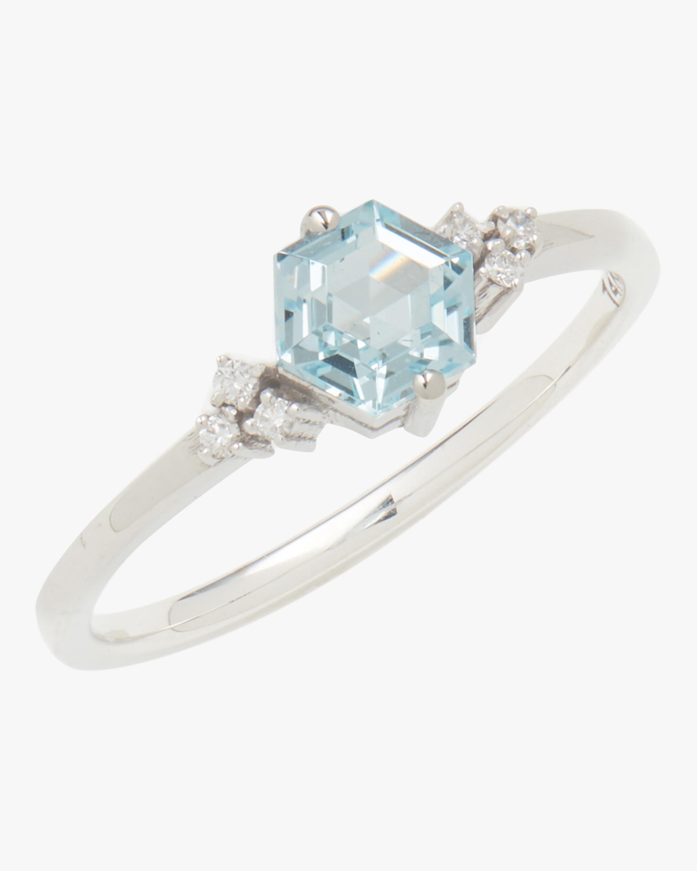 Bloom Blue Topaz Ring