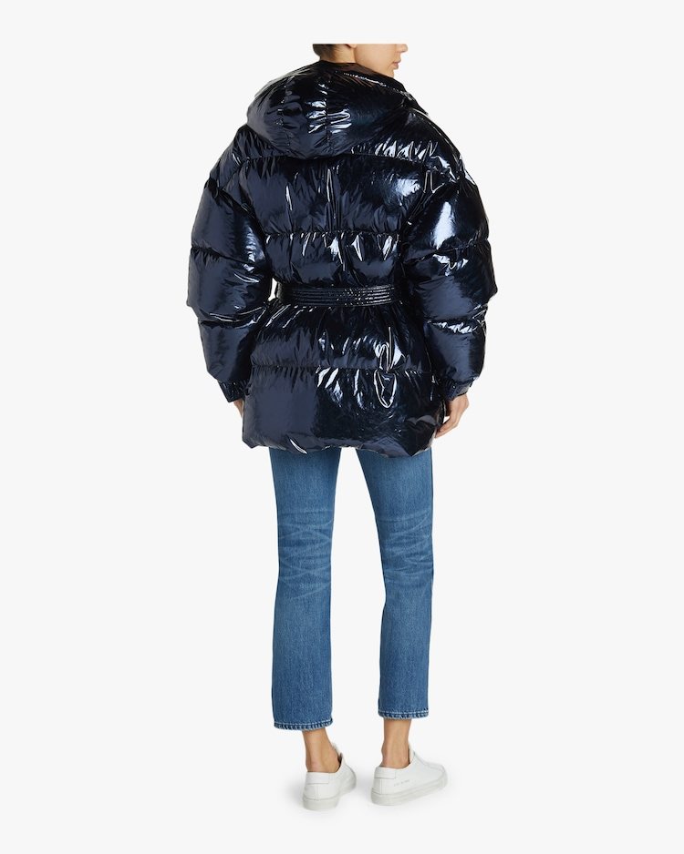 Belted Puffer Jacket Ienki Ienki