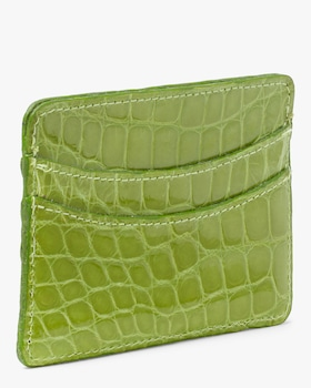 Lime Card Case