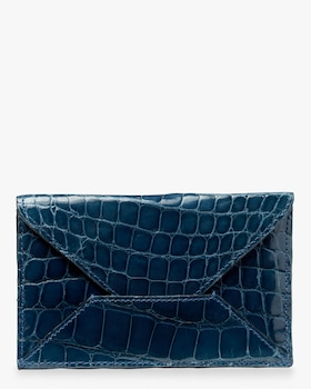 Denim Croc Envelope
