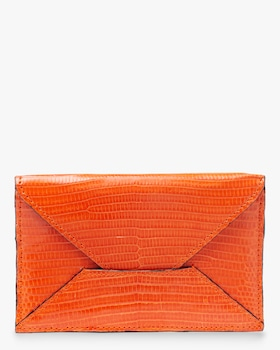 Orange Lizard Envelope