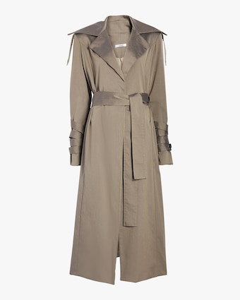 aaizél Lamar Trench with Side Detail 1