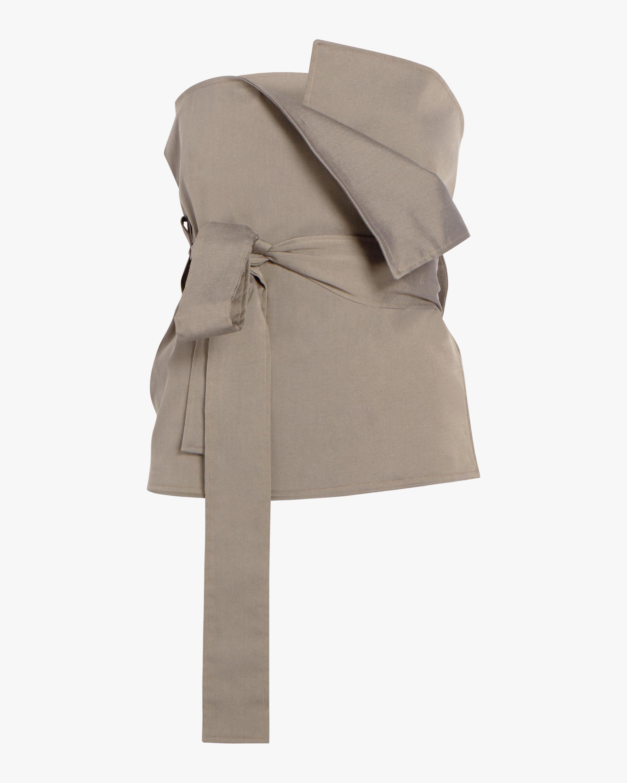 Kaia Strapless Wrap Top