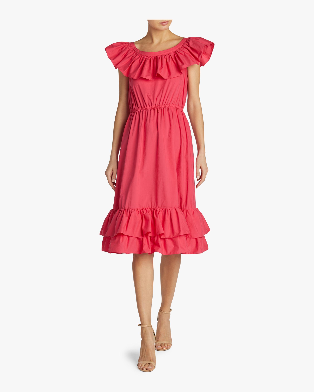 Two Ruffle Dress