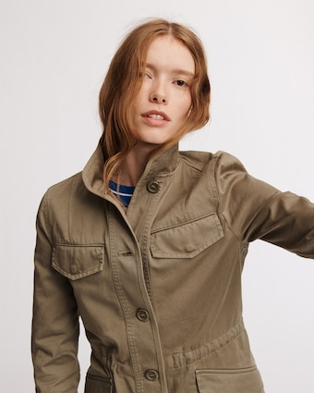 Daniella Washed Jacket
