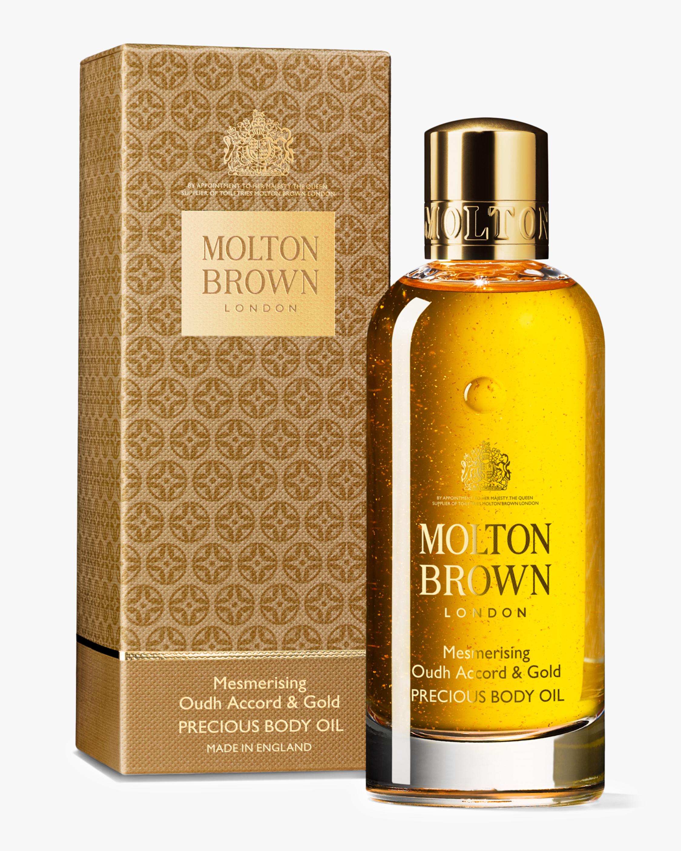 Molton Brown Mesmerising Oudh Accord & Gold Precious Bathing Oil 3.3oz 2