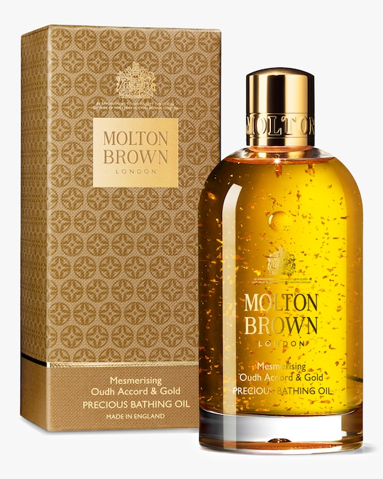 Molton Brown Mesmerising Oudh Accord & Gold Precious Bathing Oil 6.6oz 0