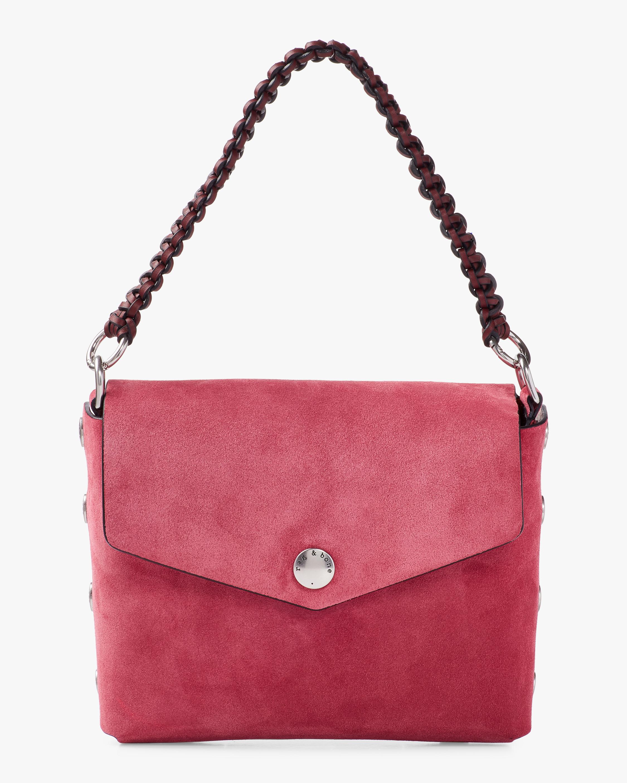 Atlas Suede Shoulder Bag