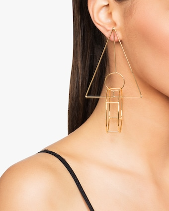 Mercedes Salazar Hombre Earrings 2