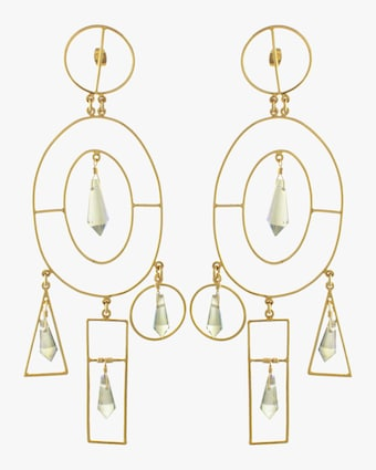 The Park Crystal Earrings