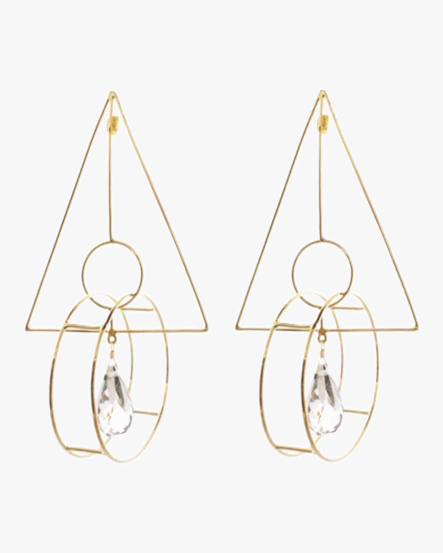 Mercedes Salazar Geometric Earrings 2