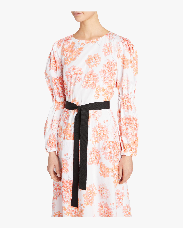 Elastic Sleeve Dress Arias
