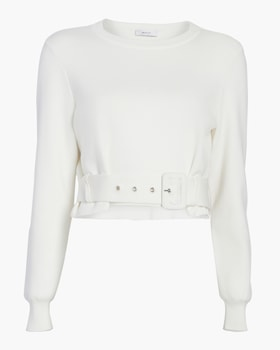 Beted Pullover Sweater