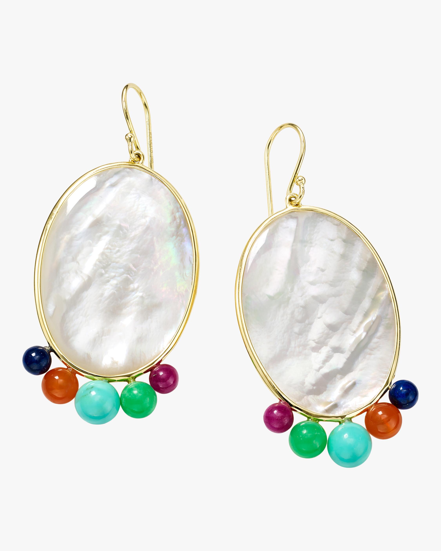 Ippolita Nova Medium Oval Beaded Earrings 0