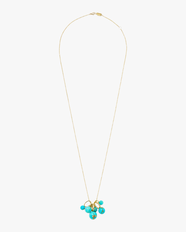 Ippolita Nova Turquoise Bead Cluster Necklace 1