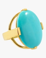 Ippolita Rock Candy Oval Turquoise Ring 0