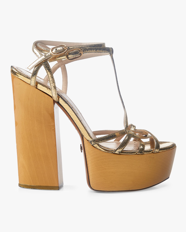 Nappa Metal Sandal