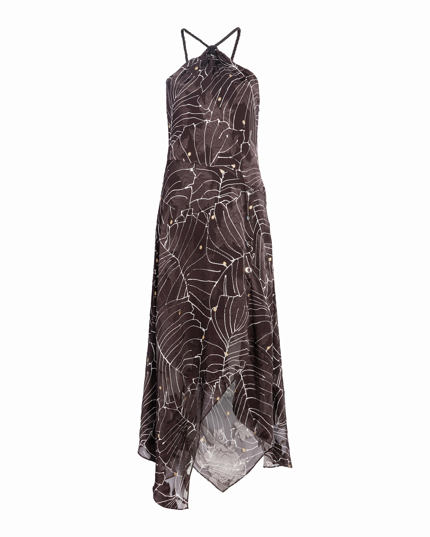 Yigal Azrouël Hand Drawn Floral Dress 1