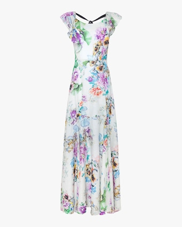 Nicole Linen Maxi Dress