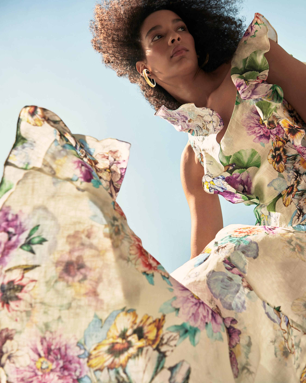 Adriana Iglesias Nicole Linen Maxi Dress 1