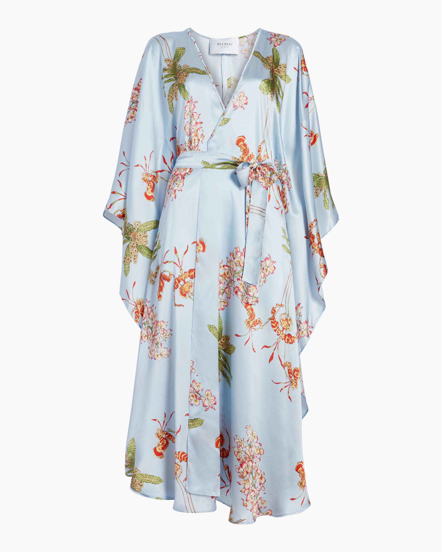 Brianna Silk Satin Dress