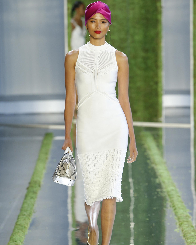 Sleeveless Pencil Knit Dress