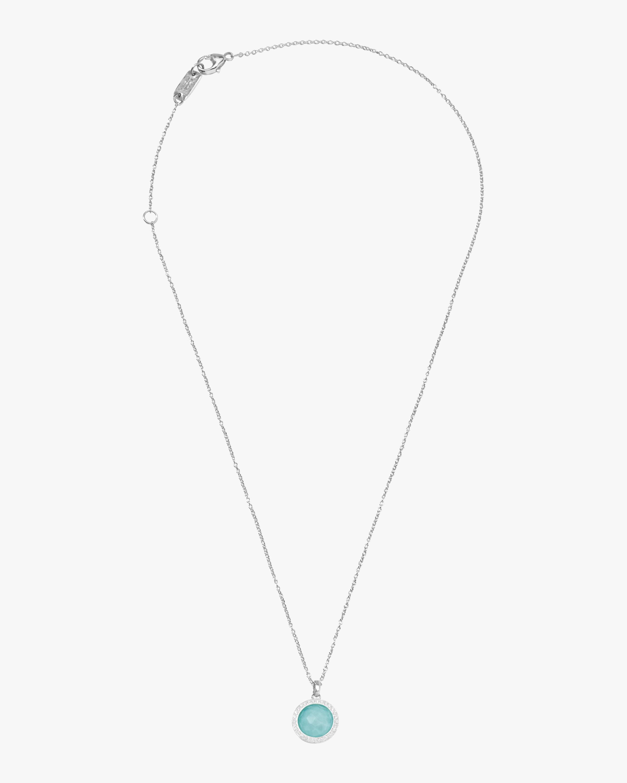 Lollipop Turquoise Mini Pendant Necklace