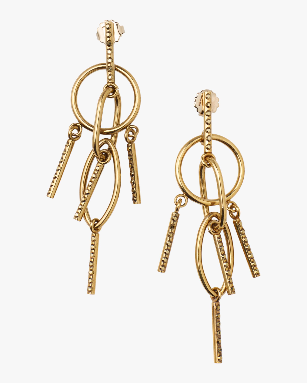 Interlock Chandelier Earrings