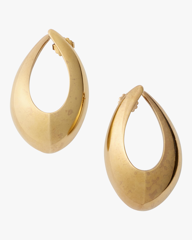 Sculptural Hoop Earrings