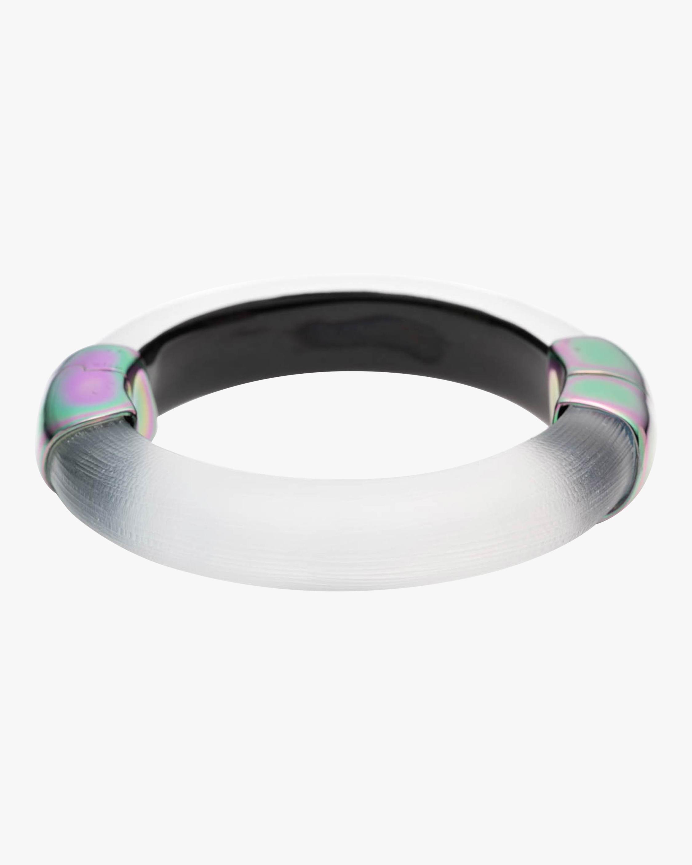 Liquid PVD Capped Hinge Bracelet