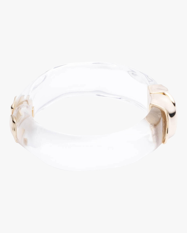 Sculptural Metal Hinge Bracelet