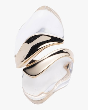 Liquid Lucite Sculptural Ring