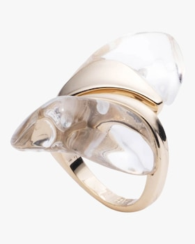 Liquid Lucite Sculptural Ring