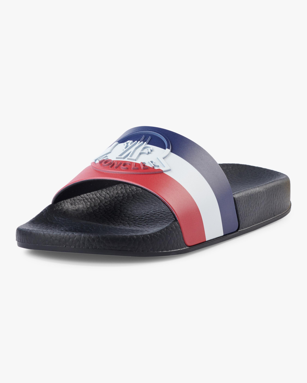 Jeanne Logo Slide Sandals