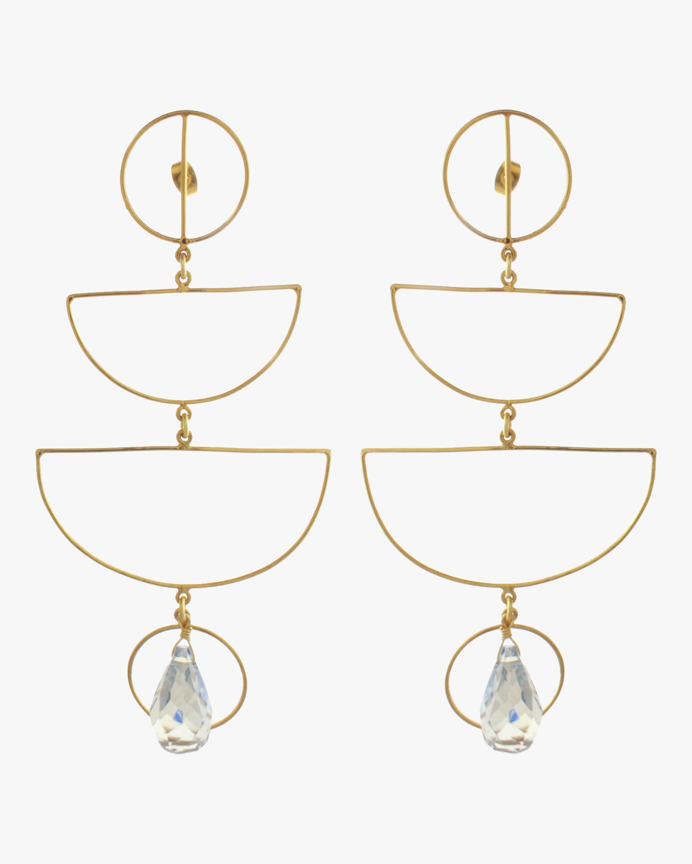 Mercedes Salazar Crystal Mobile Earrings 2